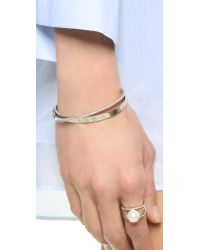 Kenneth Jay Lane - Multicolor Stackable Bangle - Lyst