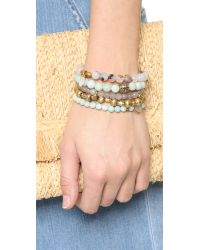 Lacey Ryan - Multicolor Charming Bracelet Set - Lyst