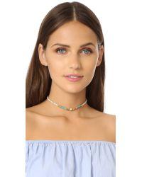 Lizzie Fortunato - Metallic Valley Choker Necklace - Lyst