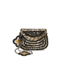 LOVE Binetti - Multicolor Pat Cross Body Bag - Lyst