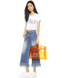 Lovers + Friends - White Basic Tee - Lyst