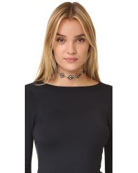 Lulu Frost - Blue Energy Choker Necklace - Lyst