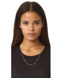 Madewell - Multicolor Beaded Tassel Chain Necklace - Lyst
