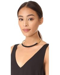 Madewell - Multicolor Bead Wrap Collar Necklace - Lyst