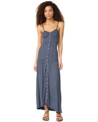 Mara Hoffman - Blue Maxi Dress - Lyst
