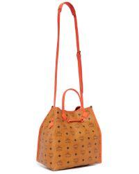 MCM - Multicolor Kira Bucket Bag - Lyst