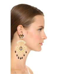 Mercedes Salazar - Metallic Fiesta Clip On Earrings - Lyst