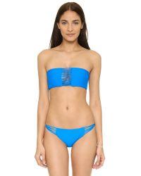 Mikoh Swimwear - Blue Lanai Bikini Bottoms - Lyst