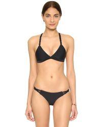 Mikoh Swimwear   Black Pali Bikini Bottoms   Lyst