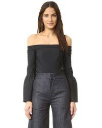 Misha Collection - Black Melina Bodysuit - Lyst