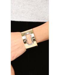 Marc Jacobs - Multicolor Icon Statement Cuff Bracelet - Lyst