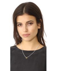 Maya Magal - Metallic Square Friendship Necklace - Lyst
