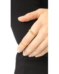 Maya Magal - Metallic Midi Outline Ring - Lyst