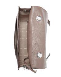 MICHAEL Michael Kors - Brown Large Cooper Leather School Satchel - Lyst