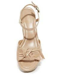 MICHAEL Michael Kors - Natural Willa Mid Wedges - Lyst