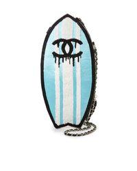 Mua Mua - Blue Double C Surfboard Clutch - Lyst
