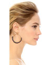 Nakamol - Metallic Daisy Earrings - Lyst