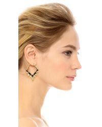 Noir Jewelry | Metallic Below Zero Earrings | Lyst