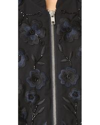 Needle & Thread - Black Blossom Embroidery Bomber - Lyst