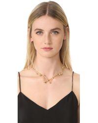 Pamela Love - Metallic Hydra Collar Necklace - Lyst