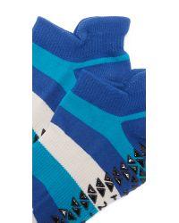 Pointe Studio - Blue Ava Grip Studio Socks - Lyst
