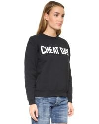 Private Party | Black Cheat Day Sweatshirt | Lyst
