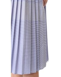 Public School | Blue Emerson Shirtdress | Lyst