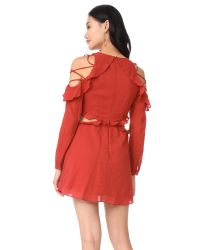 Red Carter - Red Rhiannon Dress - Lyst