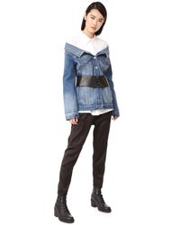 Robert Rodriguez | Blue Denim Long Jacket | Lyst