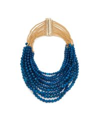 Rosantica - Blue Raissa Necklace - Lyst