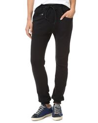 R13 - Black Boy Jogger Pants - Lyst