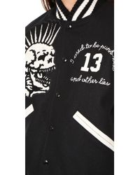 R13 - Multicolor Vintage Varsity Jacket - Lyst