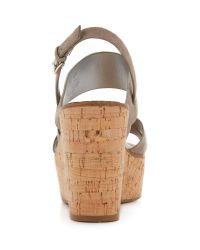 Sam Edelman - Natural Destiny Wedge Sandals - Lyst