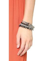 Samantha Wills - Black Midnight Prism Grand Bracelet Set - Lyst