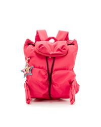 See By Chloé - Red Joy Rider Backpack - Lyst