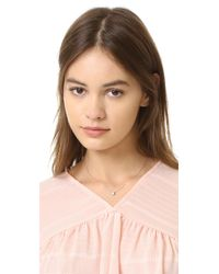 Shashi - Multicolor Solitaire Necklace - Lyst