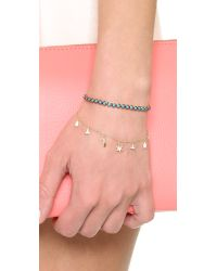Shashi - Multicolor Tennis Slide Bracelet - Lyst