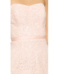 Shoshanna - Pink Ellie Lace Dress - Lyst