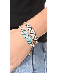 Shourouk - Blue Moodz Bracelet - Lyst