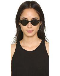 Retrosuperfuture - Black Ilaria Sunglasses - Lyst