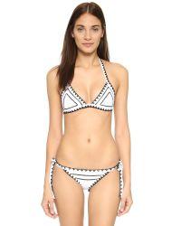 Same Swim - Multicolor The Tease Tie Side Bikini Bottoms - Lyst