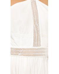 StyleStalker - White Night Rider Maxi Dress - Lyst