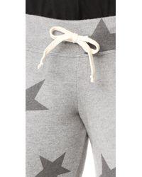 Sundry - Gray Star Sweatpants - Lyst