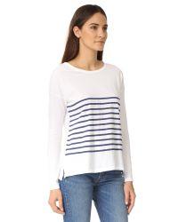 Sundry - White Stripes Long Sleeve - Lyst