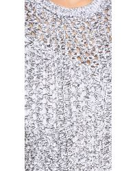 Theory - Gray Nenalo Dress - Lyst