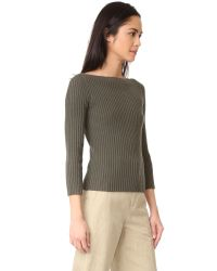 Theory - Multicolor Sandora Long Sleeve Knit - Lyst