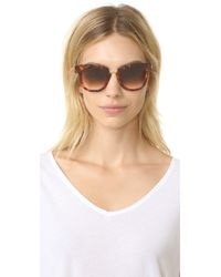 Thierry Lasry - Brown Mondanity Sunglasses - Lyst