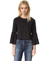 Torn By Ronny Kobo | Black Noemi Top | Lyst