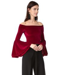 Torn By Ronny Kobo - Red Mimi Crop Top - Lyst