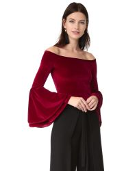 Torn By Ronny Kobo | Red Mimi Crop Top | Lyst